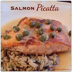 Salmon piccata - made this last night with rice and green peas. Loved it! It was fast (the longest to cook was the rice @ 20 min). The fish had such a nice flavor. Well definitely be using this recipe again, it's a great dish for busy nights when short on time!