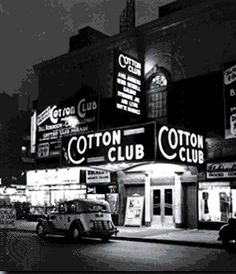 The Cotton Club was a white-only establishment even though it featured many of the greatest black entertainers of the era, including Duke Ellington, Adelaide Hall, Count Basie, Bessie Smith, Cab Calloway, Ella Fitzgerald, Fats Waller, Louis Armstrong, Dizzy Gillespie, Nat King Cole, and Billie Holiday.