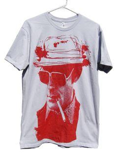 e6dc0a46422 HUNTER S THOMPSON T-Shirt sizes S-M-L-XL by headhunterapparel on Etsy https