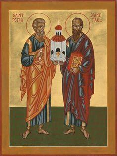 St. Peter & St. Paul by Fr. Vladimir