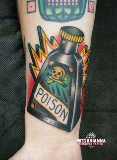 bottle tattoo - Buscar con Google