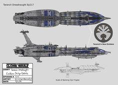Munificent-class Star Frigate and Recusant-class Light ...
