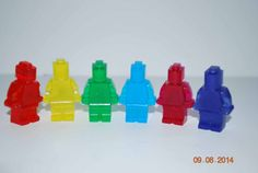 Lego Soap  Glycerin 1 set includes 6 by SweetandSouthernDesi, $2.50