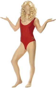 Baywatch Babe Second Skin Costume