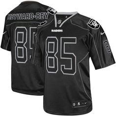 Order a new Elite Men's Nike Oakland Raiders #85 Darrius Heyward-Bey Lights Out Black NFL Jersey this season. We are the #1 source for Elite Men's Nike Oakland Raiders #85 Darrius Heyward-Bey Lights Out Black NFL Jersey Size: S M L XXL XXXL 46 48 50 52 54 56 58, where 3-Day shipping on any size order is free shipping.  $129.99
