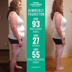 Kimberly Thurston Unicity Prime Challenge Honorable Mention! Lisa powered through the Transformation program losing 27 pounds! She can now hike with her family and is motivated to keep up life! #Unicity #weightloss #health #beforeandafter