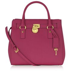 Michael Kors Hamilton Medium Saffiano Leather North/Shouth Satchel Tote, need this for your Chanel tweed suit Best Handbags, Purses And Handbags, Satchel Handbags, Handbags Michael Kors, Purse Styles, Michael Kors Hamilton, Swagg, Chic, Fashion Bags