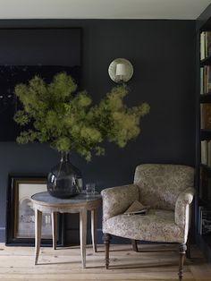 Dark Room Love • via Amber Interior Design: