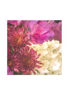Foulard Carré De Soie - Fleurs Roses Par Vida Vida ijomkpm5Z
