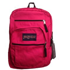JanSport Big Student Backpack Cyber Pink -- Read more at the image link. Best Hiking Backpacks, Day Backpacks, Backpack For Teens, Camping And Hiking, Day Hike, Jansport Backpack, Backpacker, Student, Purses