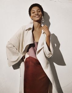 Spring shades for Woman Mango Fashion, Bold Fashion, Spring Fashion, Vintage Fashion, Fashion Looks, Womens Fashion, Vintage Style, Lineisy Montero, Cool Outfits