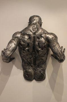 Matteo Pugliese, Gravitas, 2015, alluminio, 88 x 90 x 38 cm #contemporary #art #sculpture