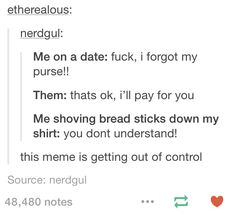 *shoves breadsticks down my purse* vintage