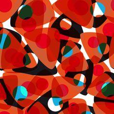 orange 70s Art Print by Matthias Hennig | Society6