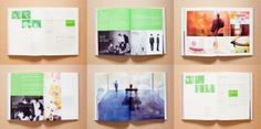 Visual Interaction / Yearbook 2011 on Editorial Design Served