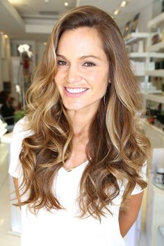 brown with blonde ombre