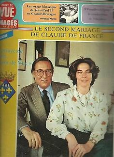 point de vue images du monde mariage de claude de france n 841 juillet1964. Black Bedroom Furniture Sets. Home Design Ideas