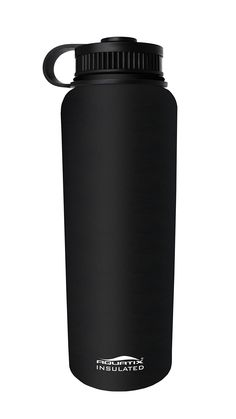 abb3ef5dcd5 Aquatix Insulated Black Sport Water Bottle Double Wall Insulation 24 Hours  Cold 12 Hours Hot 41