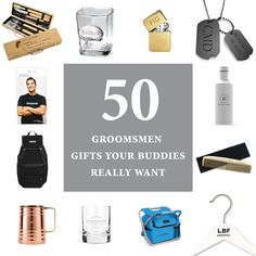 Wedding gifts are one of the most exciting parts about getting married! We put together a list of manly gifts that we know your dudes will love!