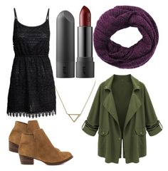 """Fall outfit #1"" by ofekpreisfl5 on Polyvore featuring Banana Republic, H&M, San Diego Hat Co. and Jessica Simpson"