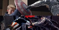Captain America: The Winter Soldier - shield punch and how or happened in the comic book.