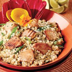 Salade de quinoa au thon - Soupers de semaine - Recettes 5-15 - Recettes express 5/15 - Pratico Pratique