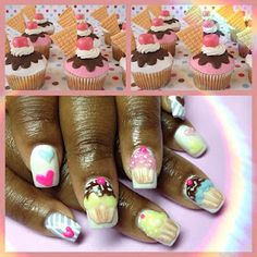 cute cupcake cuticles! via @DCCupcake Critic