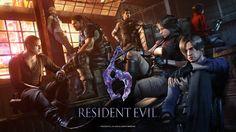 Resident Evil 6 anniversary wallpaper