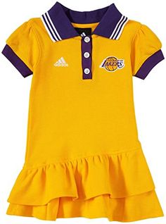 Los Angeles Lakers Baby Dress