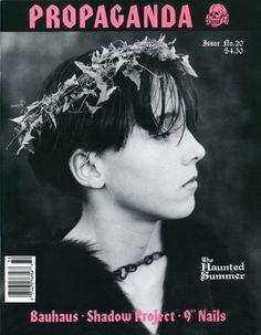 "propagandagothic:  ""Propaganda Magazine Issue No. 20, Summer 1993  """