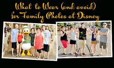 Tips for capturing great photos - What to wear & what to avoid wearing on your Disney Trip for all the photos you are sure to take