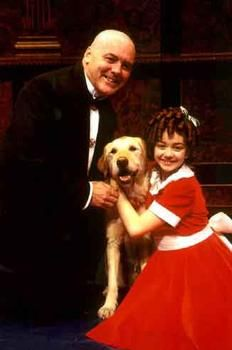 annie the broadway musical | Who played the first Annie in the Broadway musical?