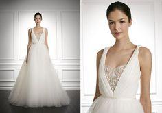Dos sonhos! *vestido de noiva carolina herrera fall 2013*