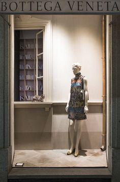 "BOTTEGA VENETA,Milan,Italy, ""Dogs have owners...Cats have staff"", pinned by Ton van der Veer"