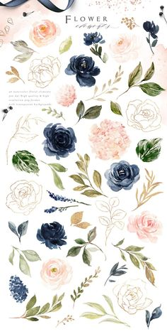 Watercolor Flower Background, Floral Watercolor, How To Watercolor, Free Watercolor Flowers, Ink Splatter, Arte Floral, Flower Backgrounds, Flower Frame, Graphic Illustration
