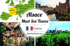 France's Alsace Region is a hidden gem on the French/German border. The architecture, culture and food are a reflection of its history in the border region.