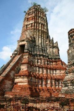 Antigua ciudad Ayutthaya. Tailandia