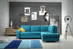 Couch Couchgarnitur Sofa Polsterecke CAPRI Schlaffunktion Polsterecke Ecksofa
