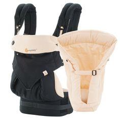 Ergobaby Four Position 360 Baby Carrier - Bundle of Joy - 360 Black/Camel, $180.00