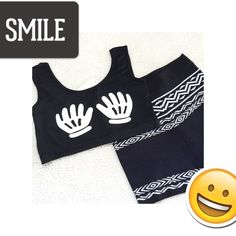 """✨ New! Funny Fashion Crop Top ✨ NWT adorable crop top that's slightly inappropriate but hilariously funny...I love wearing items like this discretely to serious functions...lol...perfect for layering!! One Size...Bust: 14"""" flat; Length: 12""""  BOGO 1/2 OFF OR BUY 2 GET 1 FREE!  Tops Crop Tops"""