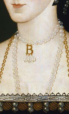 Portrait d'Anne Boleyn (Détail) Artiste inconnu 16°Siècle
