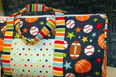 Riley Blake Designs Blog: Lori Whitlock: Play Ball #iloverileyblake #playball #loriwhitlock