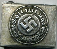During the Second World War Wehrmacht soldiers wore this slogan on their belt buckles, as opposed to members of the Waffen SS, who wore the motto Meine Ehre heißt Treue ('My honour is loyalty')