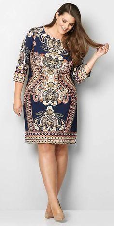 2cf6b6f51 Modelos de Vestidos Plus Size - Você sempre linda!