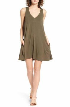 Socialite Pocket Tank Dress