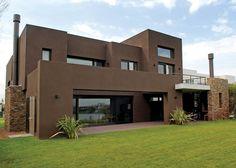 Exterior house design one story 40 ideas Exterior House Siding, Exterior Paint Colors For House, Facade House, Exterior Cladding, Exterior Siding Options, Design Exterior, Villa Design, House Design, Modern House Facades