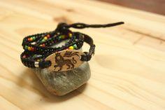 Ajouter, Voici, Bracelets, Leather, Inspiration, Etsy, Jewelry, Dreadlocks, Linseed Oil