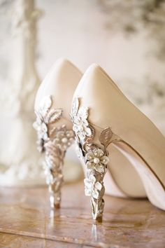 Harriet Wilde shoes | The Sweet Reveal | see more on: http://burnettsboards.com/2015/01/marie-antoinette-boudoir-session/