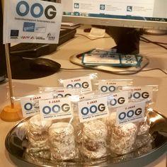Larmuseau - Het Ondersteuningspunt Ondernemers Gent bestaat 5 jaar en vierde dit met onze sneeuwballen! Smakelijk!