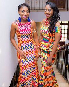 Aww! Sister Brides ❤ MUA @iglomakeup / Hair @v_nessa88 / @pkhazel #BellaNaijaWeddings